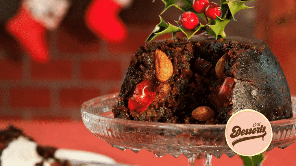 Christmas Pudding With Citrus And Spice